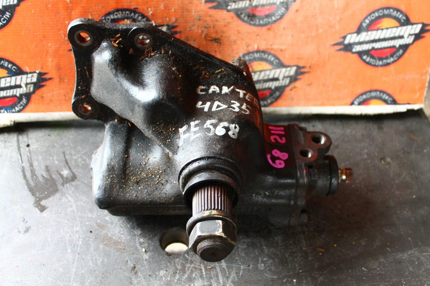 Рулевой редуктор Mitsubishi Canter FE568B 4D35 (б/у)
