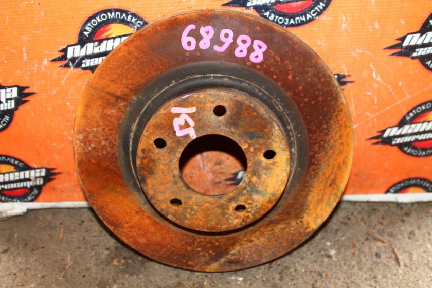 Диск тормозной Nissan Teana J31 VQ23 передний (б/у)