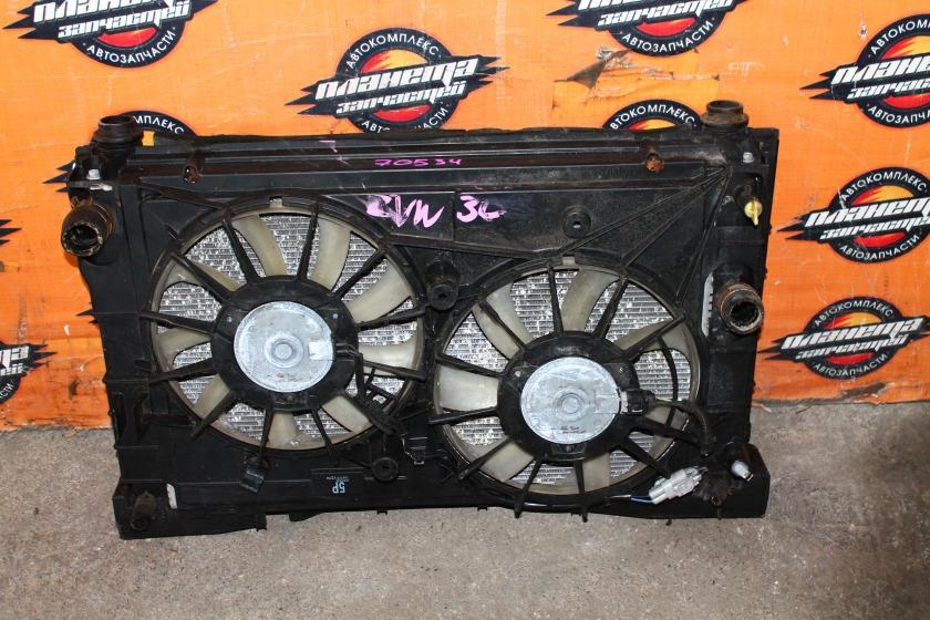 Радиатор основной Toyota Prius ZVW30 2ZR (б/у)