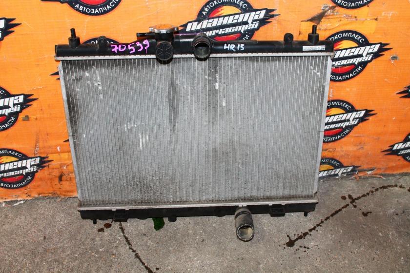 Радиатор основной Nissan Tiida C11 HR15DE (б/у)