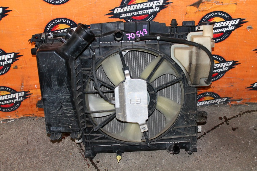 Радиатор основной Toyota Iq KGJ10 1KR (б/у)