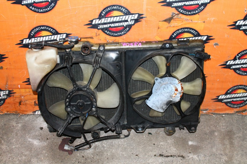 Радиатор основной Toyota Corsa EL55 4E (б/у)