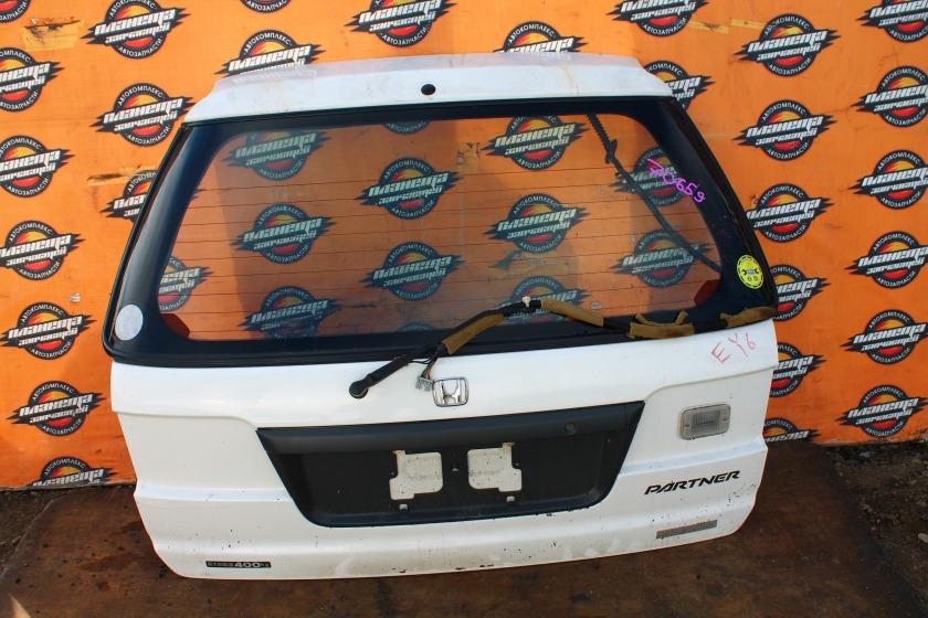 Дверь 5-я Honda Partner EY6 задняя (б/у)