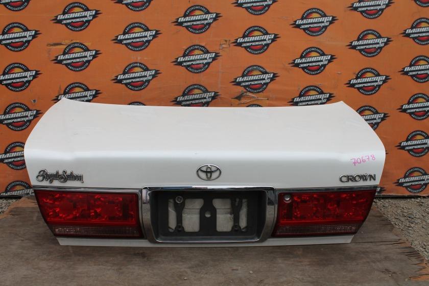Крышка багажника Toyota Crown JZS171 задняя (б/у)