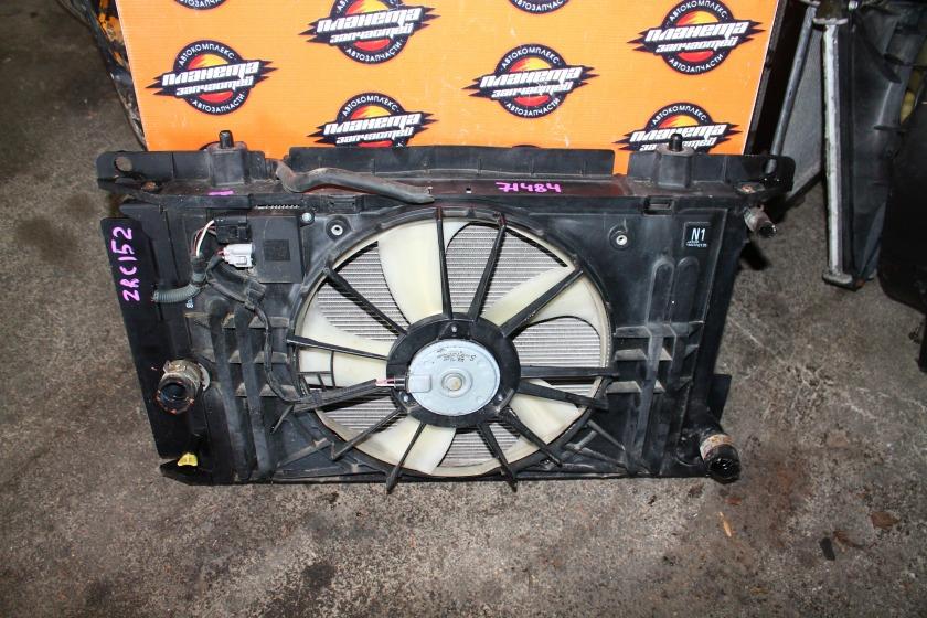 Радиатор основной Toyota Auris ZRE152 2ZR (б/у)
