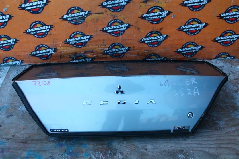 Крышка багажника Mitsubishi Lancer Cedia CS2A задняя (б/у)