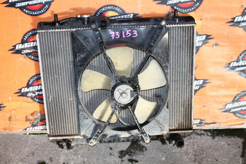 Радиатор основной Daihatsu Terios J111G EF (б/у)