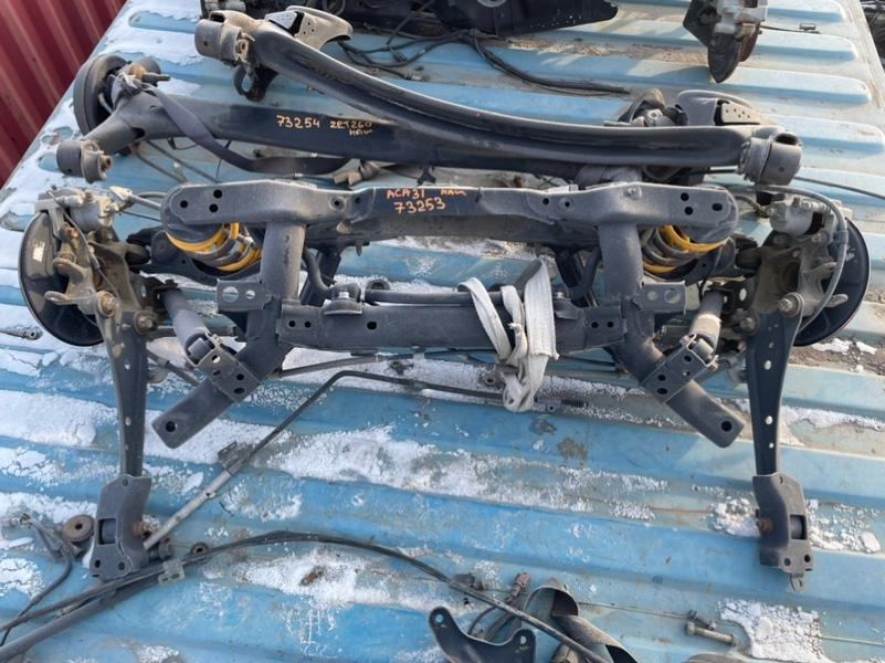 Балка подвески Toyota Rav4 ACA31 2AZFE задняя (б/у)