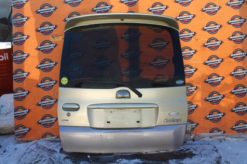 Дверь 5-я Toyota Funcargo NCP25 1NZFE задняя (б/у)