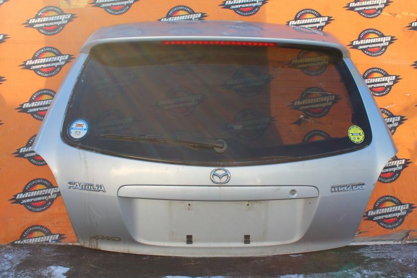 Дверь 5-я Mazda Familia S-Wagon BJ8W задняя (б/у)