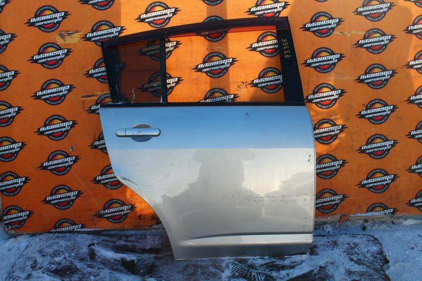 Дверь боковая Nissan Tiida C11 HR15DE задняя правая (б/у)