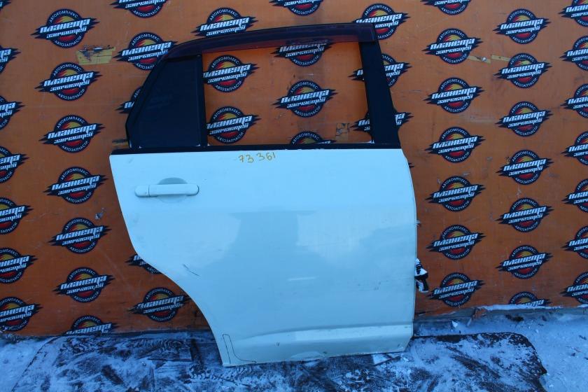 Дверь Nissan Tiida Latio C11 HR15DE задняя правая (б/у)