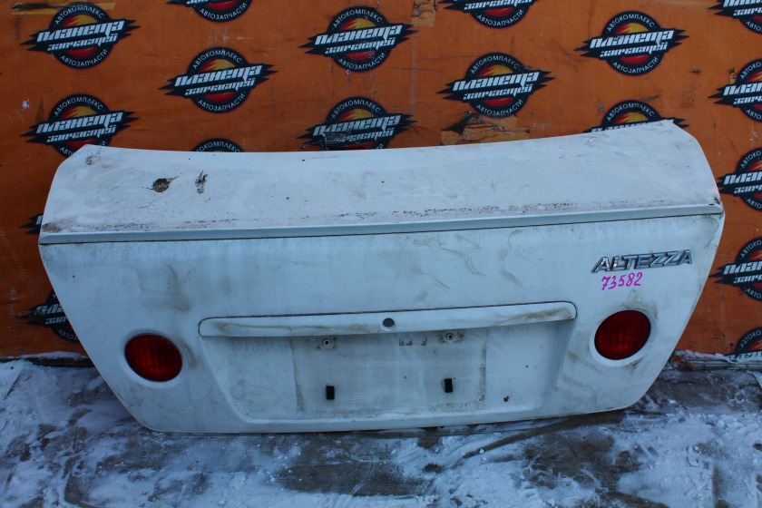 Крышка багажника Toyota Altezza SXE10 3SGE (б/у)