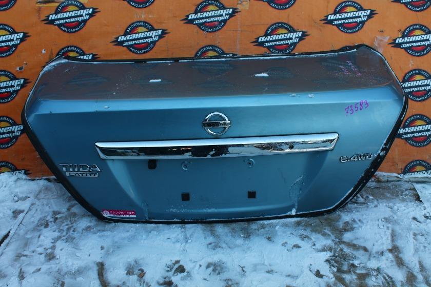 Крышка багажника Nissan Tiida Latio C11 HR15DE (б/у)