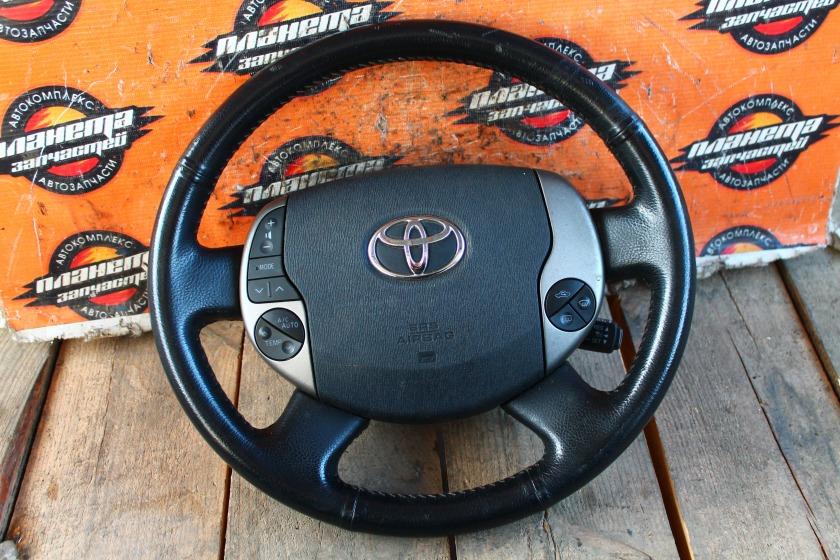 Руль с airbag Toyota Prius NHW20 1NZ-FXE (б/у)
