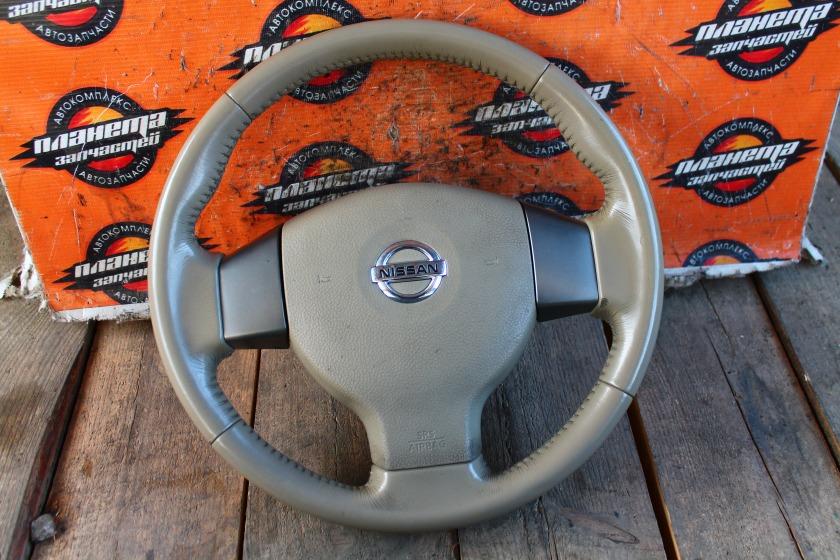 Руль с airbag Nissan Tiida C11 HR15DE (б/у)