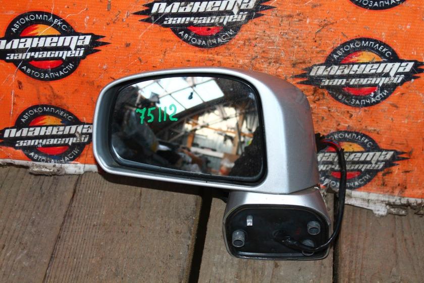 Зеркало Nissan Tiida C11 HR15DE переднее левое (б/у)