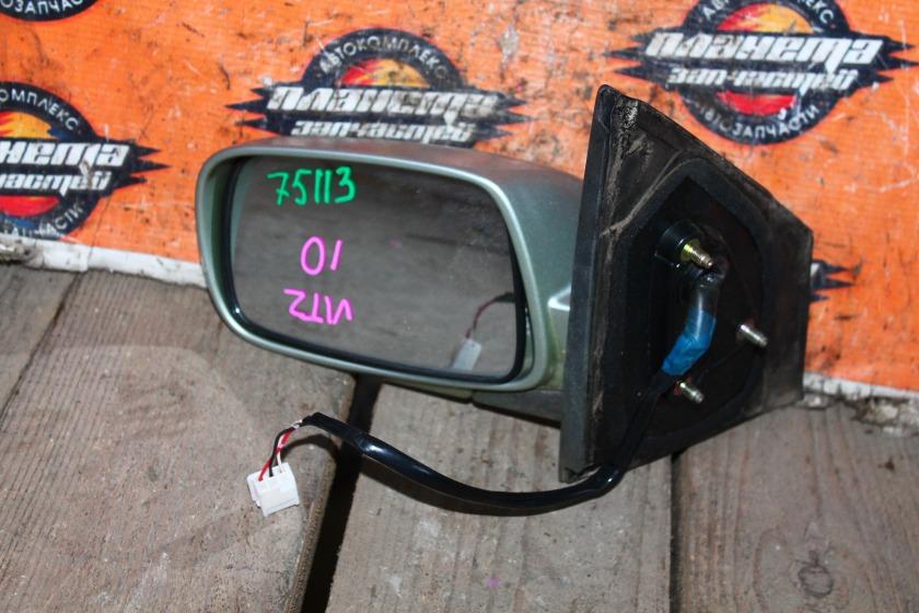 Зеркало Toyota Vitz SCP10 переднее левое (б/у)