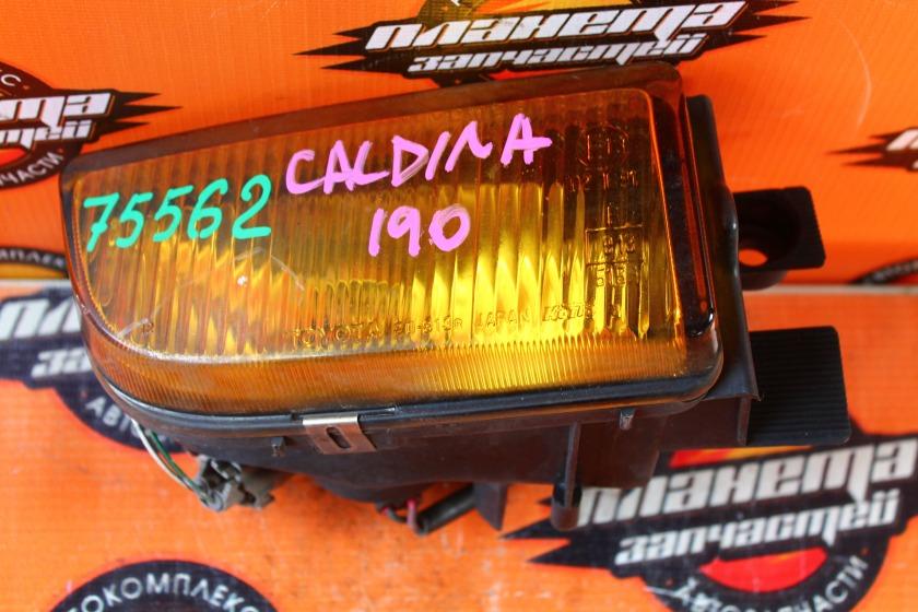 Туманка Toyota Caldina ST190 передняя правая (б/у)