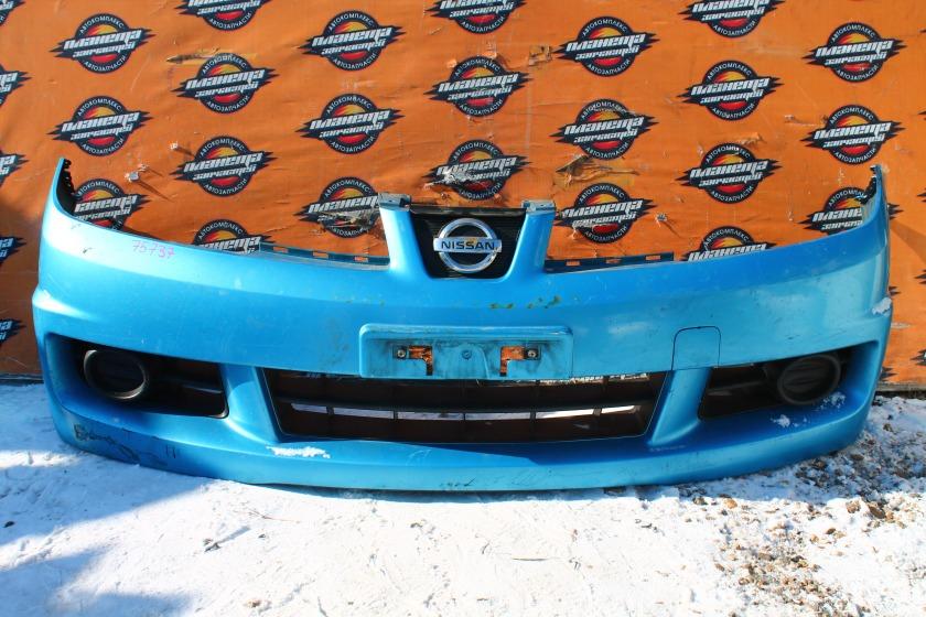 Бампер Nissan Wingroad Y12 передний (б/у)