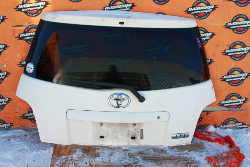Дверь 5-я Toyota Ist NCP61 задняя (б/у)