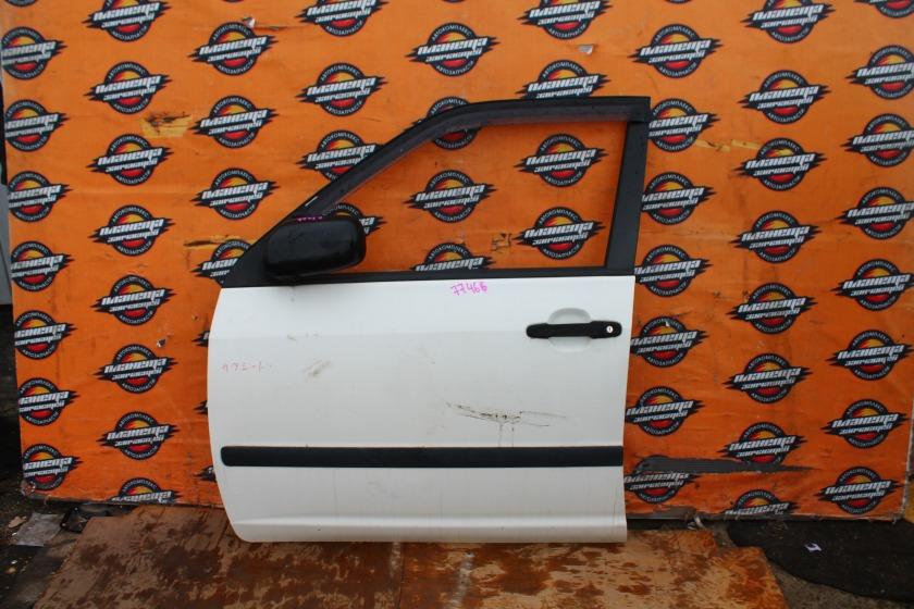 Дверь боковая Toyota Probox NCP51 передняя левая (б/у)