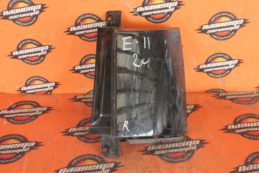 Планка под стоп Nissan Note E11 HR15DE задняя правая (б/у)