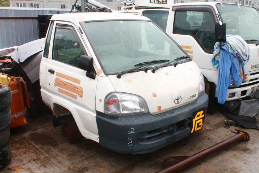 Кабина Toyota Lite Ace KM80 7K-E 1999 (б/у)