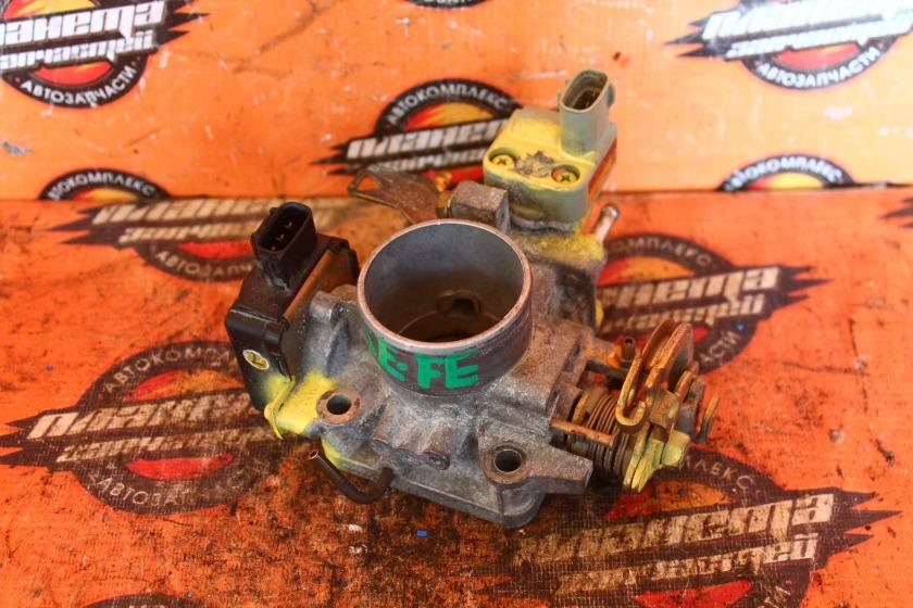Заслонка дроссельная Toyota Tercel EL51 5E-FE (б/у)