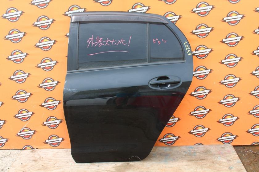 Дверь боковая Toyota Vitz KSP90 задняя левая (б/у)