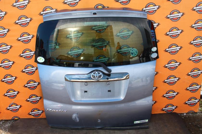 Дверь 5-я Toyota Ractis SCP100 задняя (б/у)