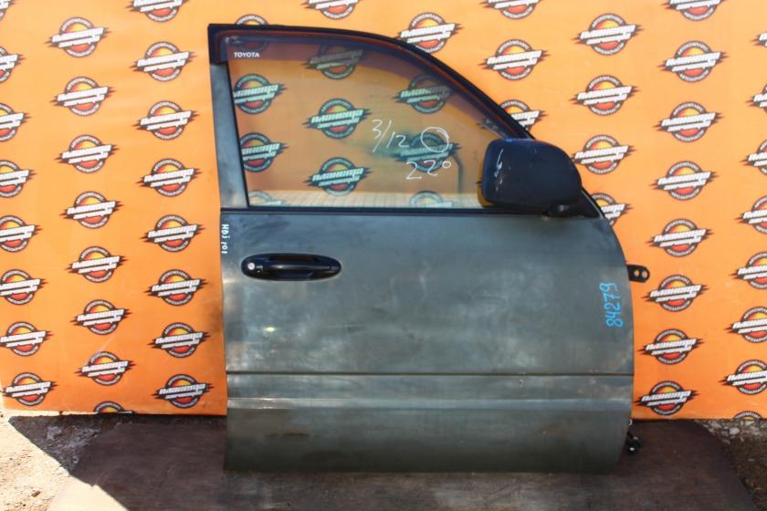 Дверь боковая Toyota Land Cruiser HDJ101K передняя правая (б/у)