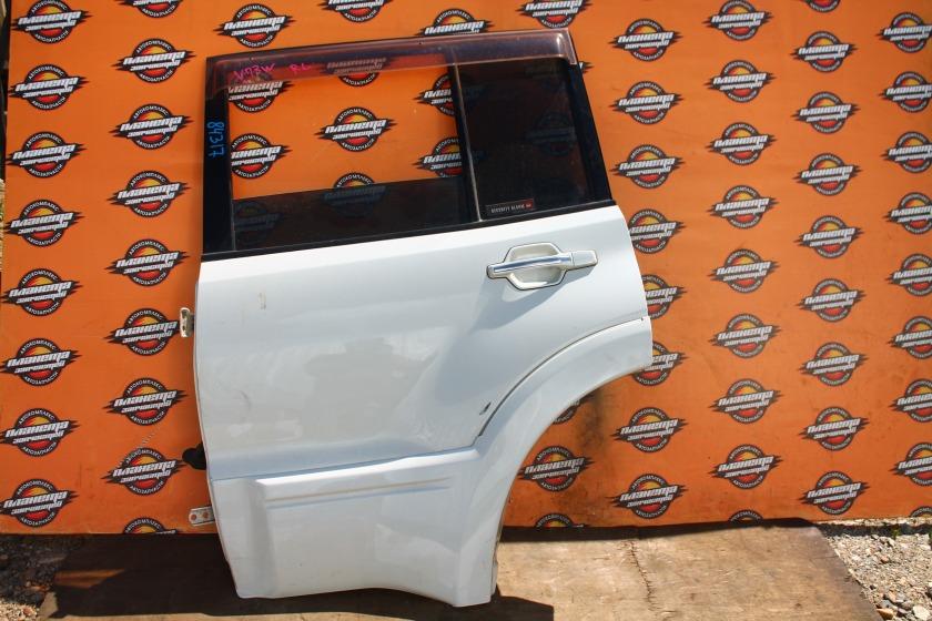 Дверь боковая Mitsubishi Pajero V73W задняя левая (б/у)