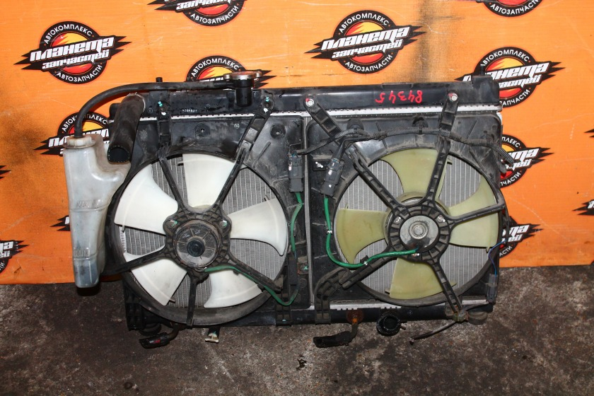 Радиатор основной Honda Fit Aria GD6 L13A (б/у)