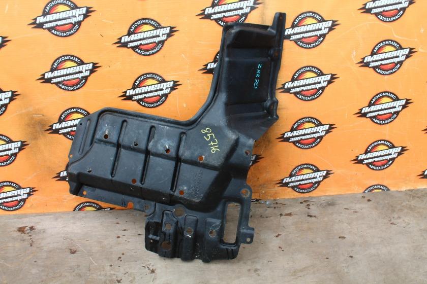 Защита двигателя Toyota Voxy ZRR70 3ZR-FAE передняя правая (б/у)