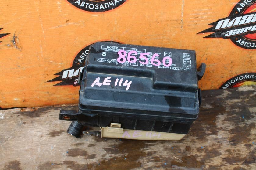 Блок предохранителей Toyota Sprinter Carib AE114G 4A-FE (б/у)