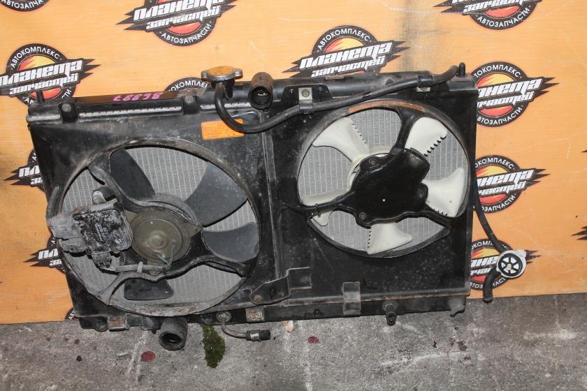 Радиатор основной Mitsubishi Lancer Cedia CS5W 4G93 (б/у)