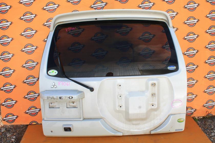 Дверь 5-я Mitsubishi Pajero Io H77W задняя (б/у)
