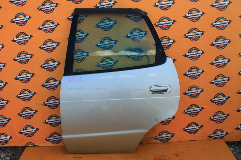 Дверь боковая Toyota Corolla Spacio AE111N задняя левая (б/у)
