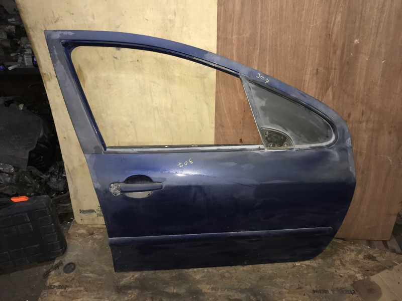 Дверь боковая Peugeot 307 3A EW10J4 2005 передняя правая (б/у)