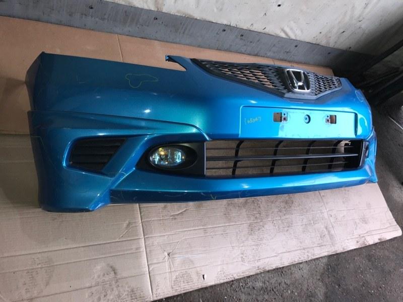 Бампер Honda Fit GE6 L13A 2008 передний (б/у)