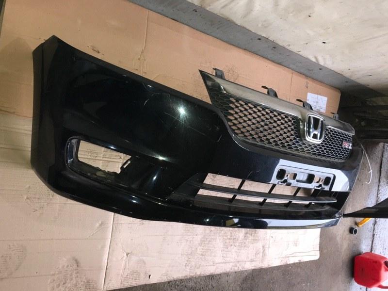 Бампер Honda Stream RN6 R18A 2008 передний (б/у)