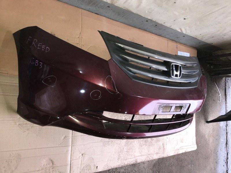 Бампер Honda Freed GB3 2010 передний (б/у)