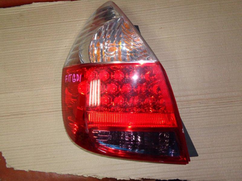 Стоп-сигнал Honda Fit GD1 L13A 2005 задний левый (б/у)