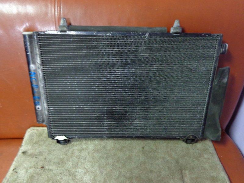 Радиатор кондиционера Toyota Ist NCP60 2NZ-FE 2003 (б/у)