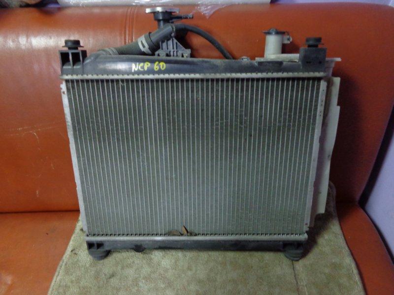 Радиатор двигателя Toyota Ist NCP60 2NZ-FE 2003 (б/у)