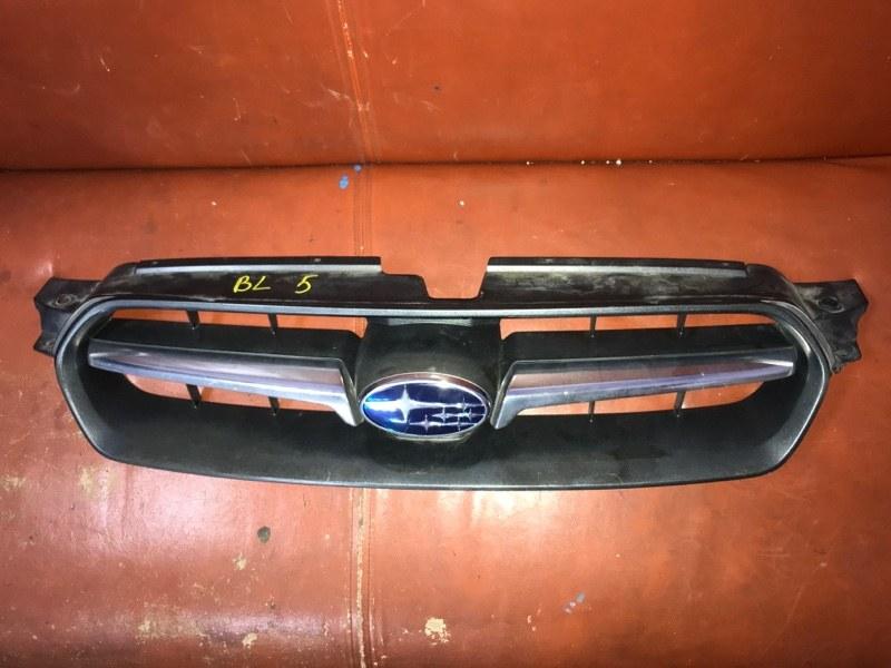 Решетка радиатора Subaru Legacy BL5 EJ20DE 2004 (б/у)