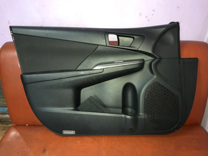 Обшивка двери Toyota Camry V50 2012 передняя левая (б/у)