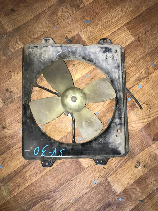 Диффузор радиатора Toyota Camry SV30 3S-FE 1994 (б/у)