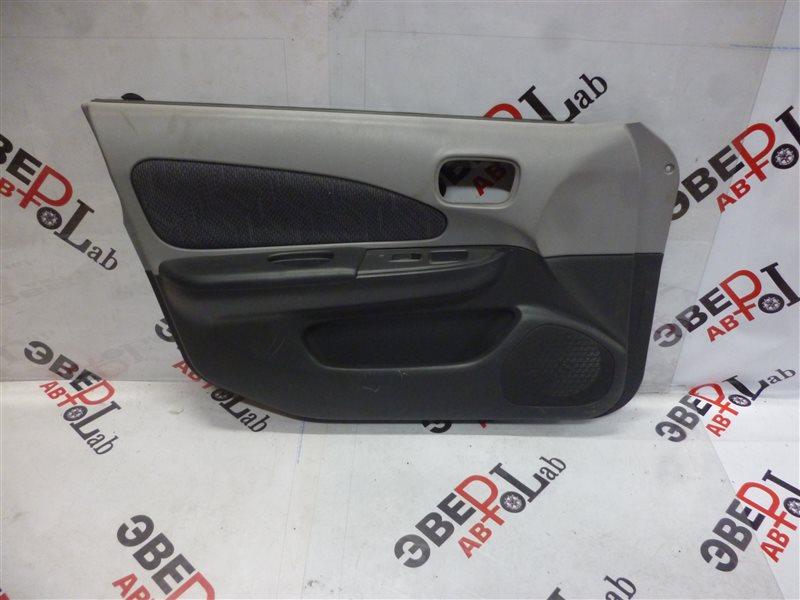 Обшивка двери Nissan Wingroad WRY11 QR20(DE) 2001 передняя левая